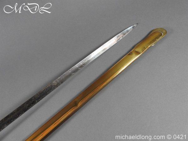 michaeldlong.com 17735 600x450 2nd Glamorgan Rifle Volunteers Presentation Sword