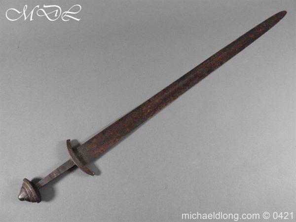 michaeldlong.com 17752 1 600x450 Viking Iron Sword – Type L