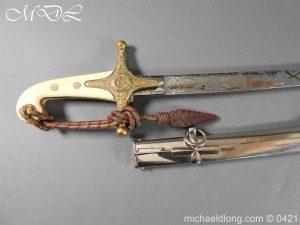 michaeldlong.com 17778 300x225 General Officer's Mameluke Sword
