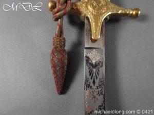 michaeldlong.com 17801 300x225 General Officer's Mameluke Sword