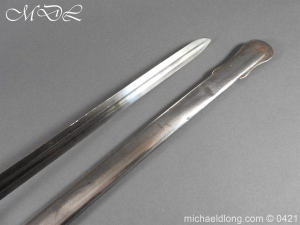 michaeldlong.com 17814 600x450 Gloucestershire Hussars Cavalry Officer's Sword