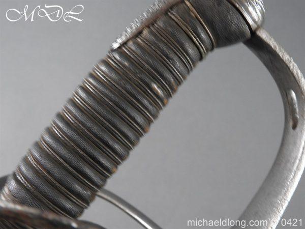 michaeldlong.com 17833 600x450 Gloucestershire Hussars Cavalry Officer's Sword