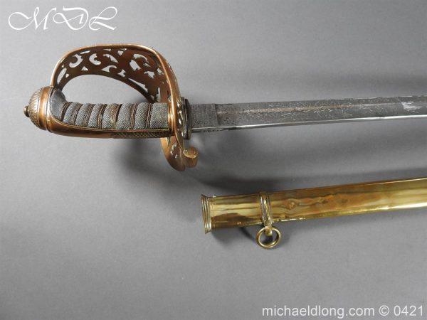 michaeldlong.com 17846 600x450 Royal Engineers 1857 Officer's Sword by Wilkinson