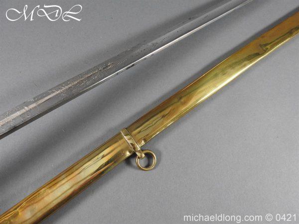 michaeldlong.com 17847 600x450 Royal Engineers 1857 Officer's Sword by Wilkinson