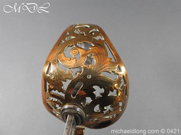 michaeldlong.com 17862 600x450 Royal Engineers 1857 Officer's Sword by Wilkinson