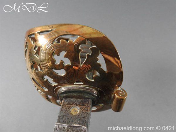 michaeldlong.com 17863 600x450 Royal Engineers 1857 Officer's Sword by Wilkinson
