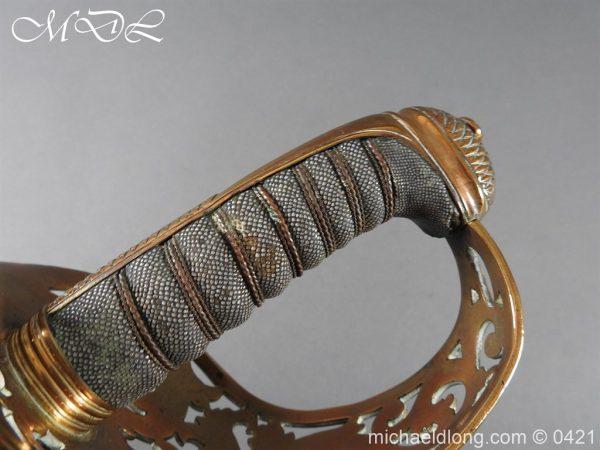 michaeldlong.com 17865 600x450 Royal Engineers 1857 Officer's Sword by Wilkinson