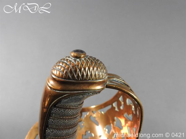 michaeldlong.com 17866 600x450 Royal Engineers 1857 Officer's Sword by Wilkinson