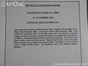 michaeldlong.com 17871 300x225 Royal Engineers 1857 Officer's Sword by Wilkinson