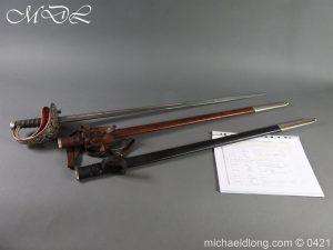 Seaforth Highlanders Officer's Sword – Sir T G Cope