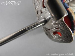 michaeldlong.com 18040 300x225 Seaforth Highlanders Officer's Sword – Sir T G Cope