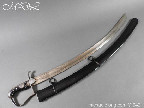 michaeldlong.com 18077 600x450 1796 Light Cavalry Sword by Wooley