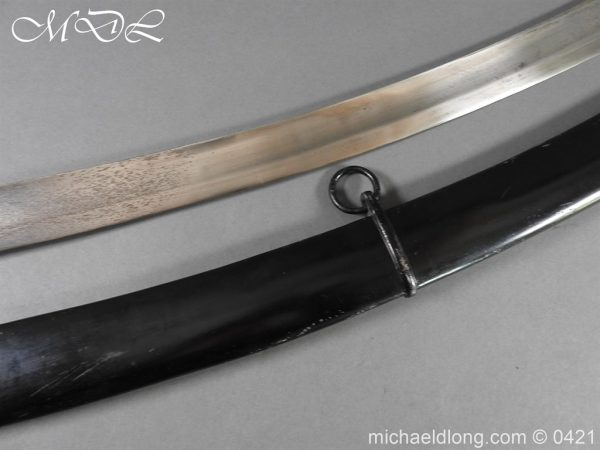 michaeldlong.com 18079 600x450 1796 Light Cavalry Sword by Wooley