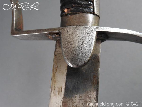 michaeldlong.com 18094 600x450 1796 Light Cavalry Sword by Wooley
