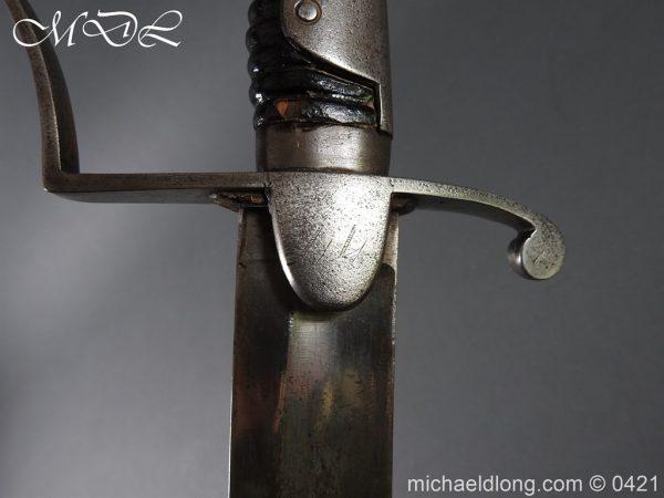 michaeldlong.com 18099 600x450 1796 Light Cavalry Sword by Wooley