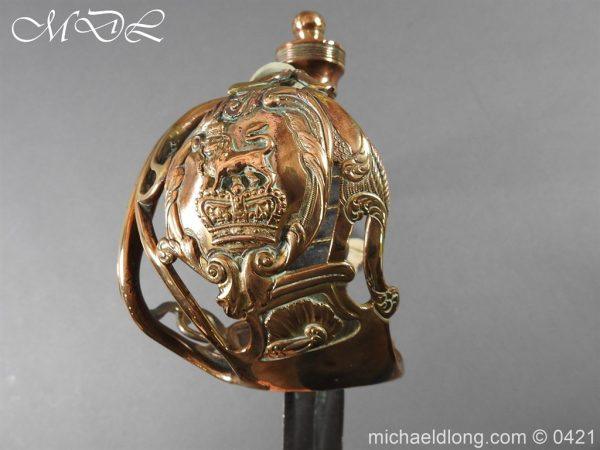 michaeldlong.com 18251 600x450 Household Cavalry Officer's Sword c 1805