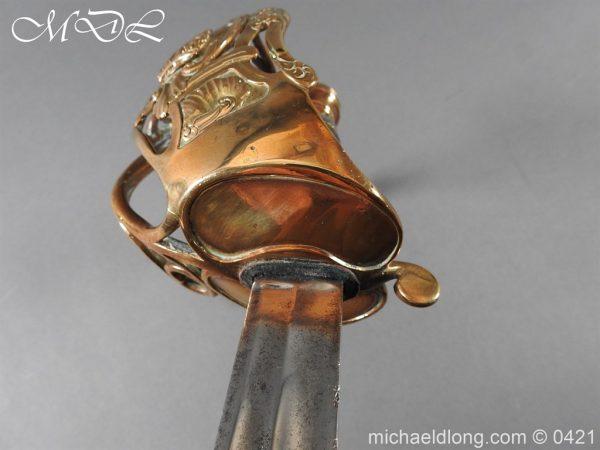 michaeldlong.com 18259 600x450 Household Cavalry Officer's Sword c 1805