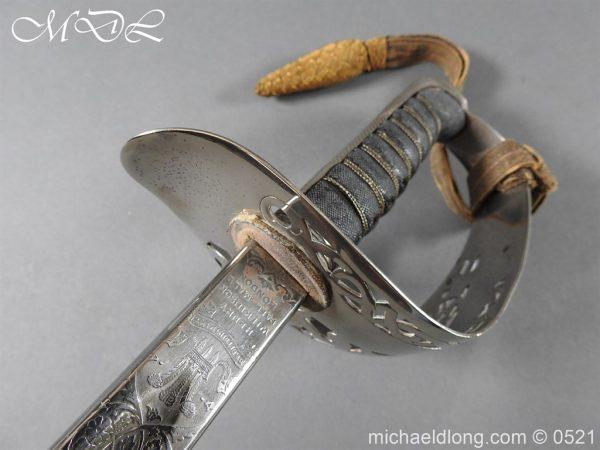 michaeldlong.com 18350 600x450 Victorian Infantry Officer's Presentation Sword