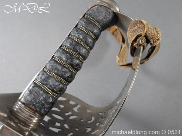 michaeldlong.com 18351 600x450 Victorian Infantry Officer's Presentation Sword
