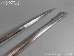 michaeldlong.com 18366 300x225 Victorian Surrey Rifles Presentation Officer's Sword