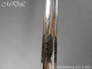 michaeldlong.com 18371 300x225 Victorian Surrey Rifles Presentation Officer's Sword