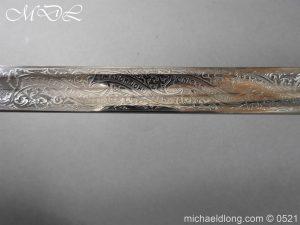 michaeldlong.com 18381 300x225 Victorian Surrey Rifles Presentation Officer's Sword