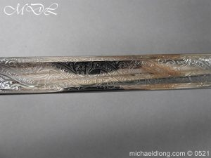 michaeldlong.com 18382 300x225 Victorian Surrey Rifles Presentation Officer's Sword