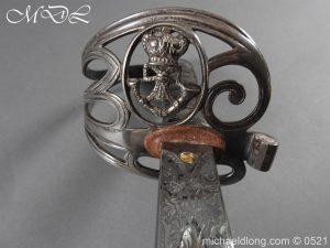 michaeldlong.com 18384 300x225 Victorian Surrey Rifles Presentation Officer's Sword