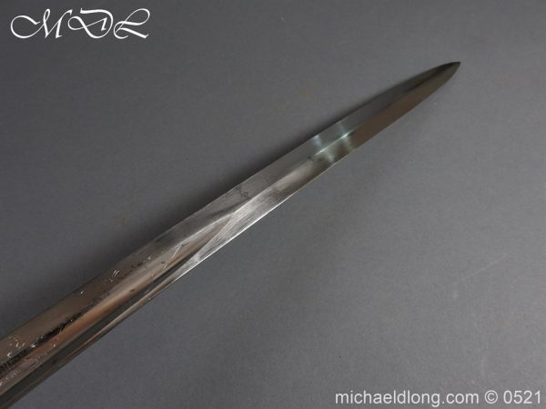 michaeldlong.com 18411 600x450 Victorian Glamorgan Rifles Presentation Sword