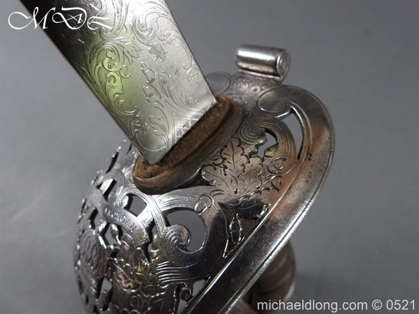 michaeldlong.com 18417 600x450 Victorian Glamorgan Rifles Presentation Sword