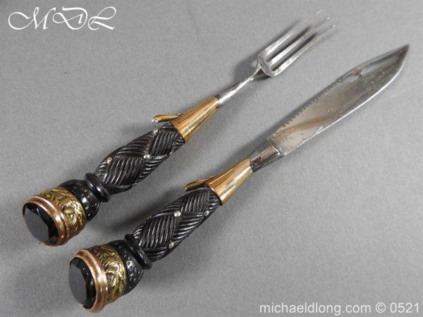 michaeldlong.com 18459 600x450 Seaforth Highlanders Regimental Dirk