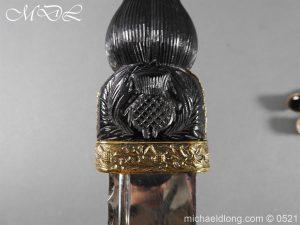 michaeldlong.com 18474 300x225 Seaforth Highlanders Regimental Dirk