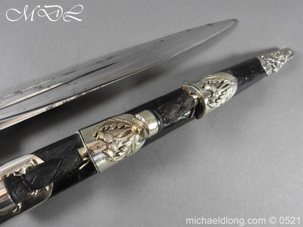 michaeldlong.com 18481 600x450 Victorian London Scottish Regimental Dirk