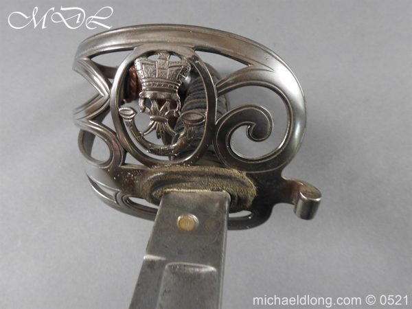 michaeldlong.com 18524 600x450 Kings Royal Rifle Corp Officer's Sword by Wilkinson