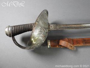 michaeldlong.com 18660 300x225 Yorkshire Hussars 1912 Officer's Sword