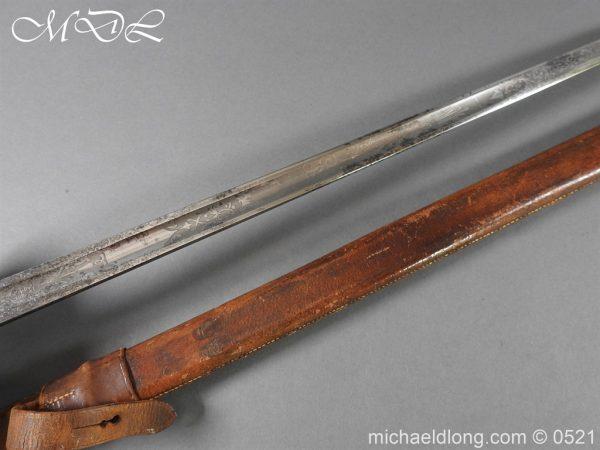 michaeldlong.com 18661 600x450 Yorkshire Hussars 1912 Officer's Sword