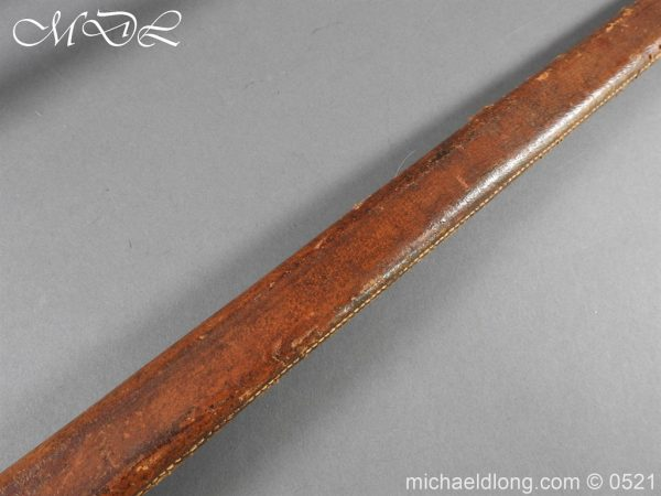 michaeldlong.com 18668 600x450 Yorkshire Hussars 1912 Officer's Sword