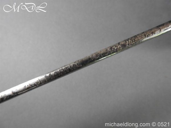 michaeldlong.com 18680 600x450 Yorkshire Hussars 1912 Officer's Sword