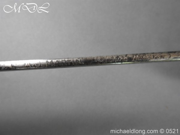 michaeldlong.com 18681 600x450 Yorkshire Hussars 1912 Officer's Sword