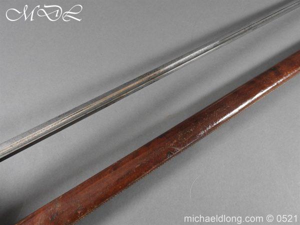 michaeldlong.com 18696 600x450 6th Dragoons Guards 1912 Pattern Cavalry Sword