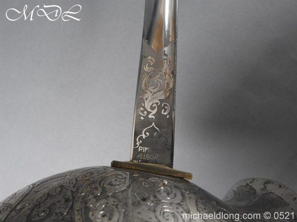 michaeldlong.com 18737 600x450 Montgomeryshire Yeomanry 1912 Presentation Sword