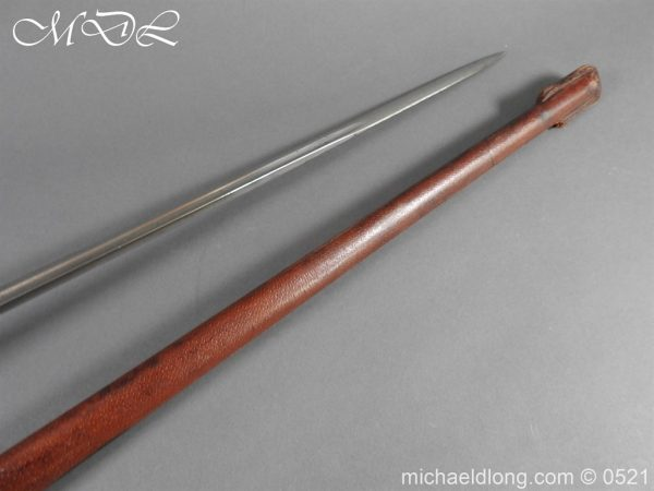 michaeldlong.com 18874 600x450 Indian pattern 1912 Officer's Sword