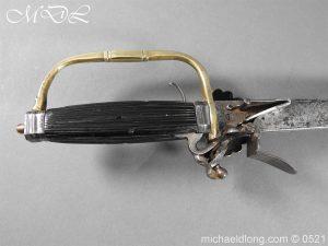 michaeldlong.com 18926 300x225 Flintlock 18th Century Sword Pistol By Van De Baize