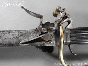 michaeldlong.com 18939 300x225 Flintlock 18th Century Sword Pistol By Van De Baize