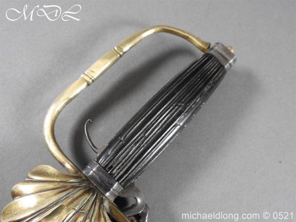 michaeldlong.com 18945 600x450 Flintlock 18th Century Sword Pistol By Van De Baize