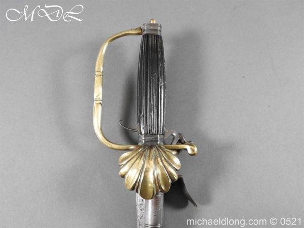 michaeldlong.com 18946 600x450 Flintlock 18th Century Sword Pistol By Van De Baize
