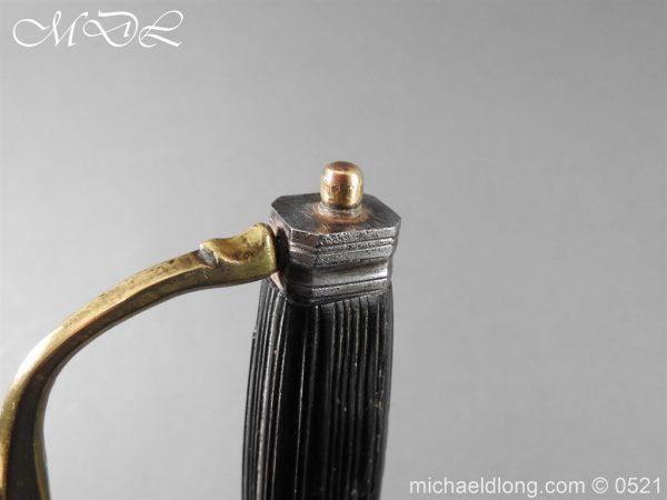 michaeldlong.com 18947 600x450 Flintlock 18th Century Sword Pistol By Van De Baize