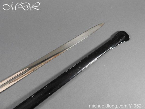 michaeldlong.com 18954 600x450 Prussian Blue and Gilt Officer's Sword