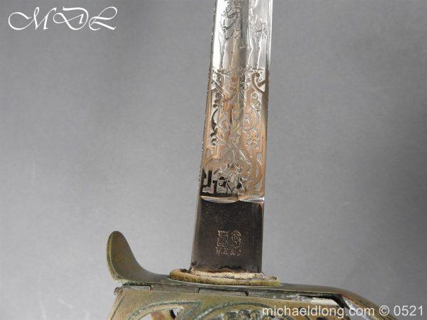 michaeldlong.com 18963 600x450 Prussian Blue and Gilt Officer's Sword