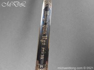 michaeldlong.com 18965 300x225 Prussian Blue and Gilt Officer's Sword